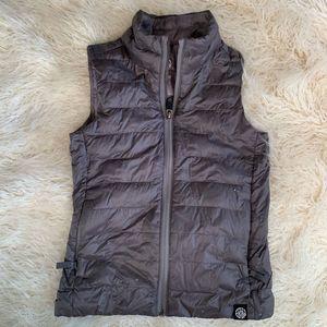 REI Co•op Grey Down Kids Vest Size Small